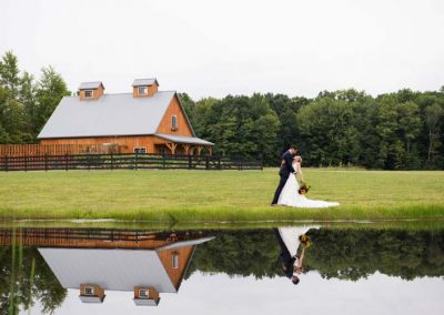 Lake and Barn Bridal Suite