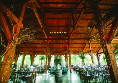 Meadow Ridge Events Maple Pavilion Interior