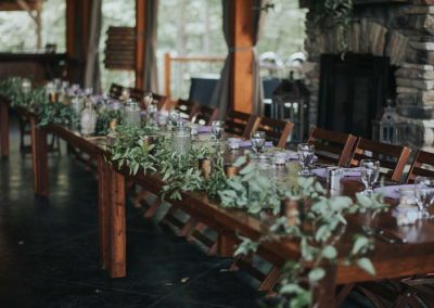 Meadow Ridge Events head table
